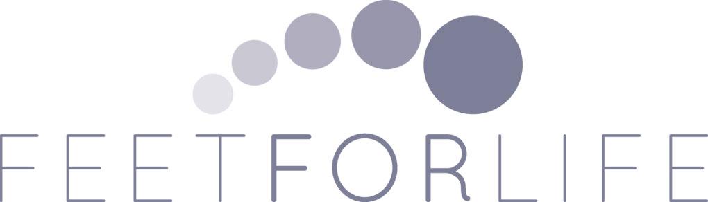 feetforlife logo website leaflet design