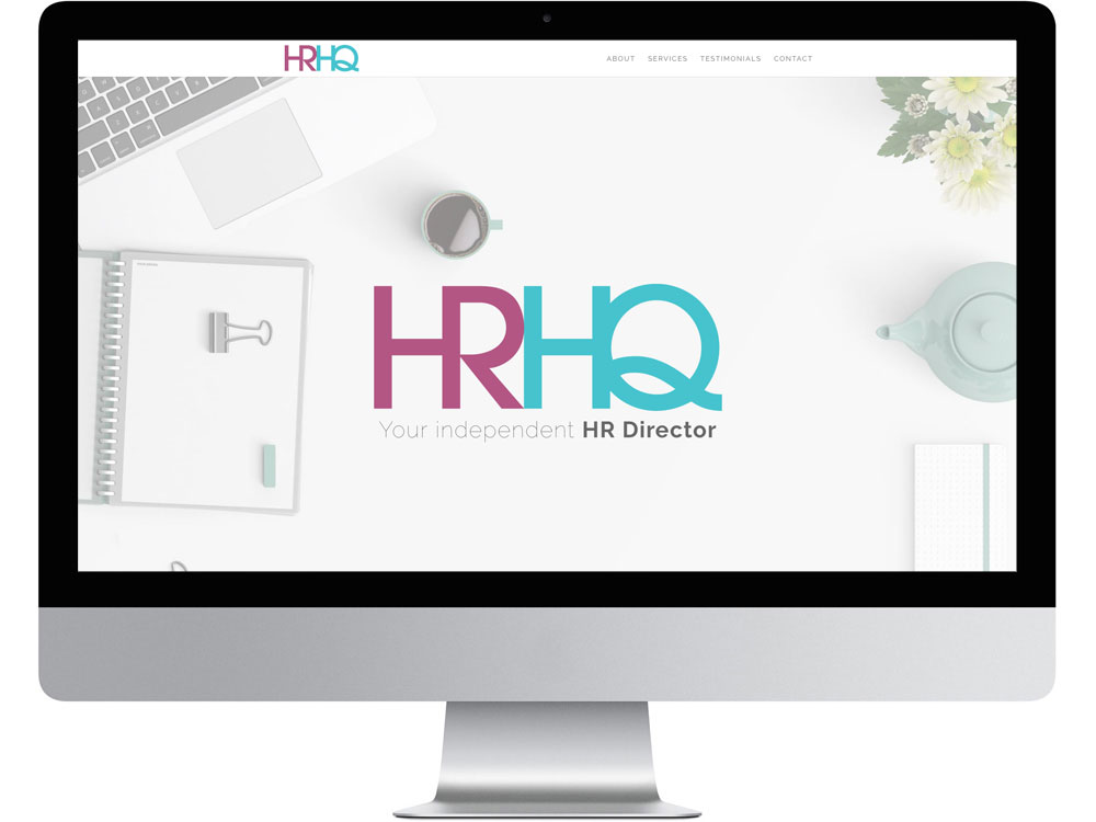 Your HRHQ independent HR director WordPress website