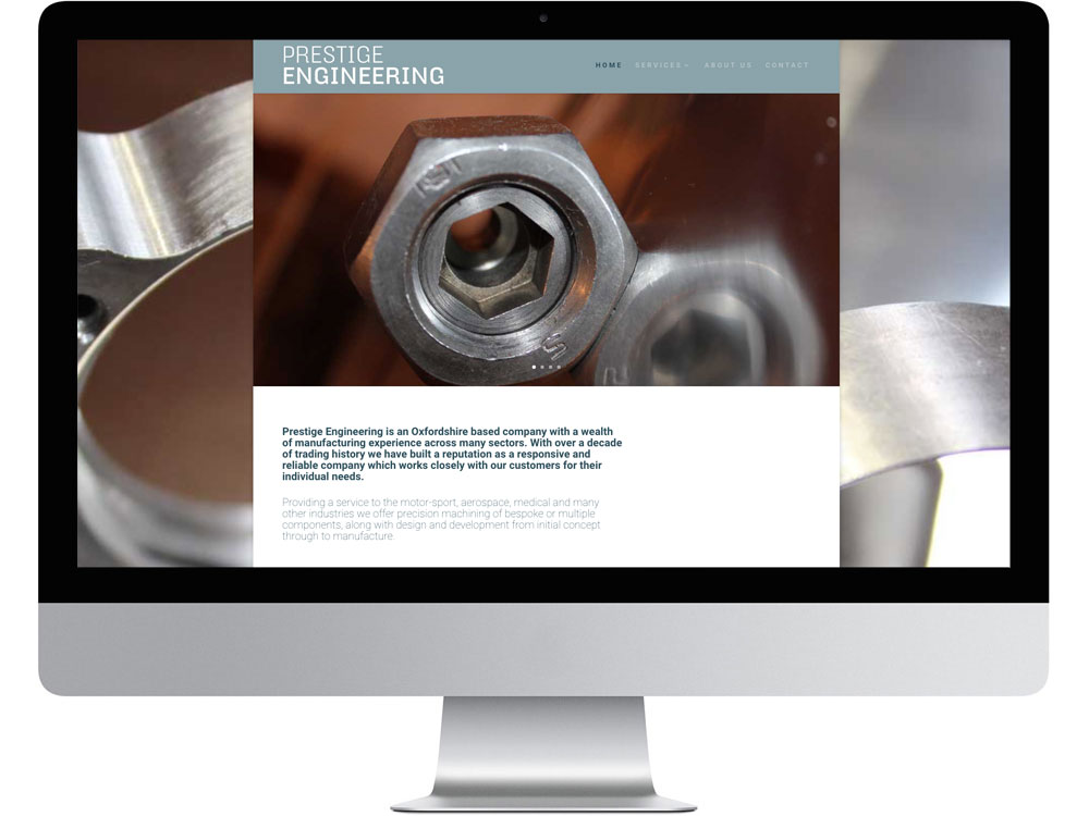 Thame engineering web design