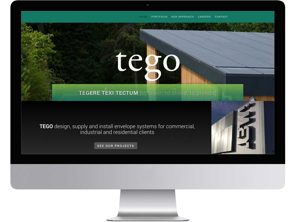 construction industry website design