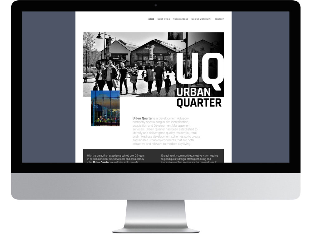 Urban quarter developments Bicester website
